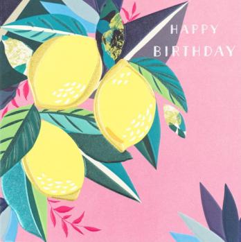 Lemons birthday card for her