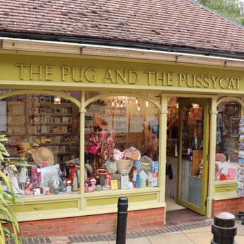 The Pug and the Pussycat Woodbridge gift shop