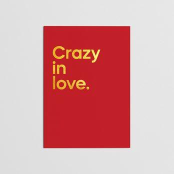Beyoncé Crazy In Love Card