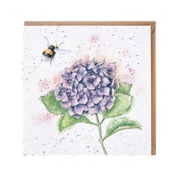 Wrendale Bumblebee Greeting Card