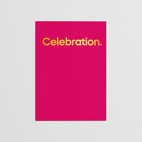 Kool and The Gang Celebration Card