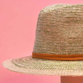 Powder Natalie Sage Fedora Hat