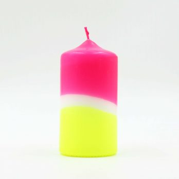 Pink stories dip dye candle sunny day