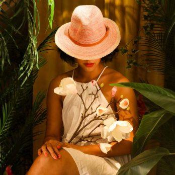 Fuchsia Natalie Fedora Hat
