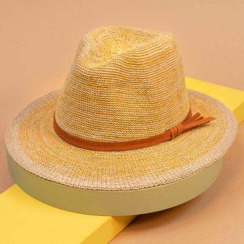 Lemon Natalie Fedora Hat