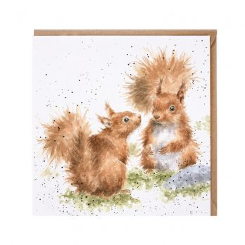 Between Friends Squirrel Card