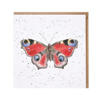 Wrendale Butterfly Greeting Card