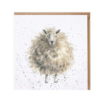 The Woolly Jumper Sheep Card