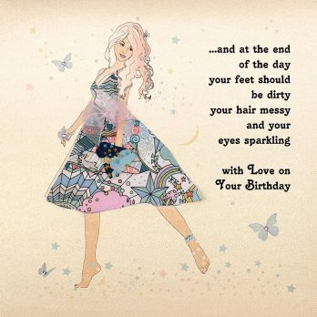 At The End Of The Day Birthday Card