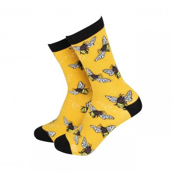 Bees Ladies Bamboo Socks