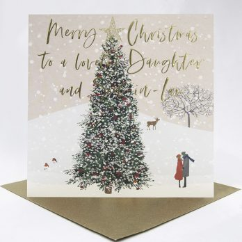 Daughter And Son-In-Law Christmas Card
