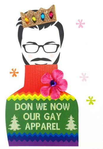 Don We Now Our Gay Apparel Christmas Card