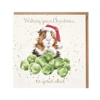 A Christmas To Sprout About Christmas Card