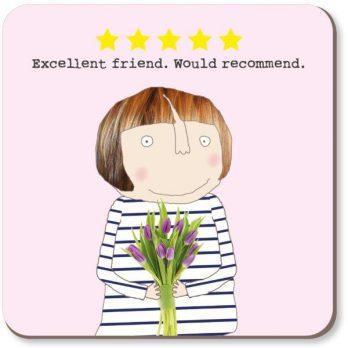 Five Star Friend Coaster