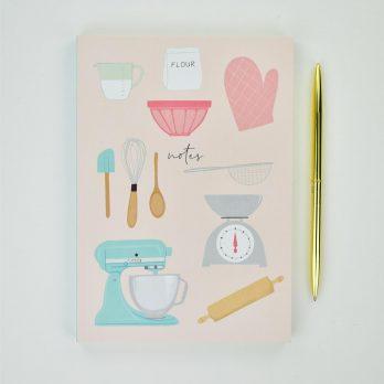 A5 Baking Notebook